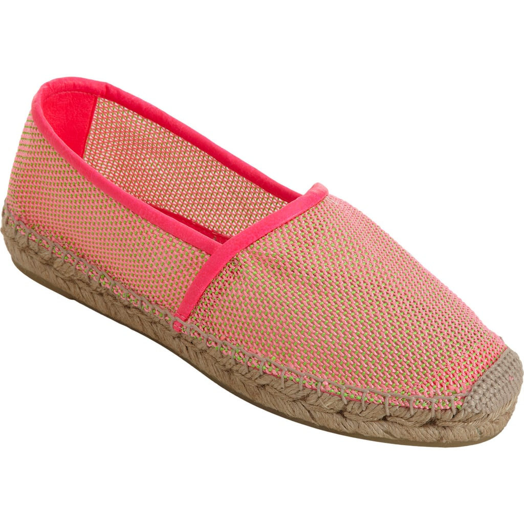 Our favorite casual kick-around shoes get a chic update in Stella McCartney's neon take on the espadrille ($189, originally $315).