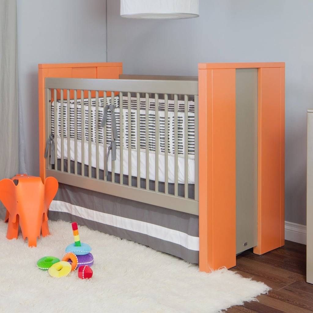 "The two-toned Cody Crib ($1,395) from Newport Cottages is ""benchmade"" — meaning that it's individually built from start to finish by a single skilled artisan, and has the ability to convert to a toddler bed."
