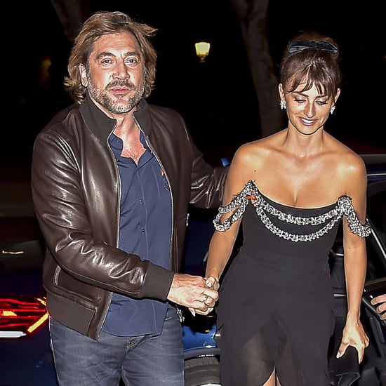 Penélope Cruz and Javier Bardem Going to a Party in Spain