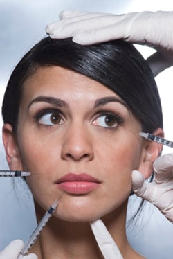 Latest Plastic Cosmetic Surgery Trend: The New New Face. Collagen, Botox, Injectables. Face Like Madonna, Demi Moore