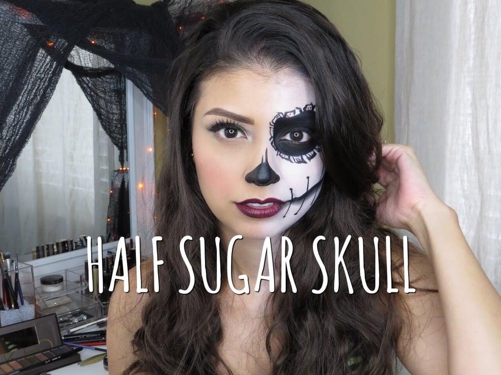 Last minute easy halloween makeup tutorials popsugar beauty baditri Image collections