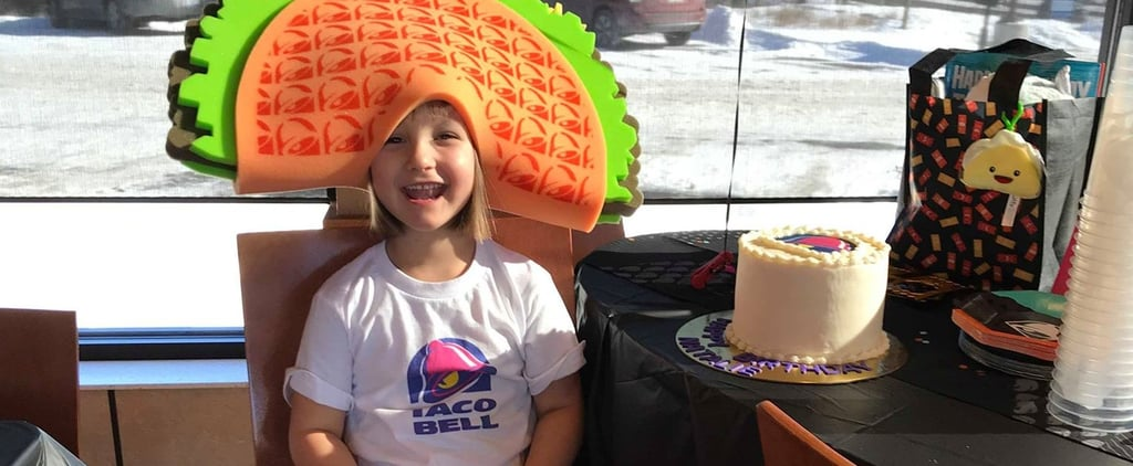 Taco Bell Throws Viral Gift Card Girl a Birthday Party