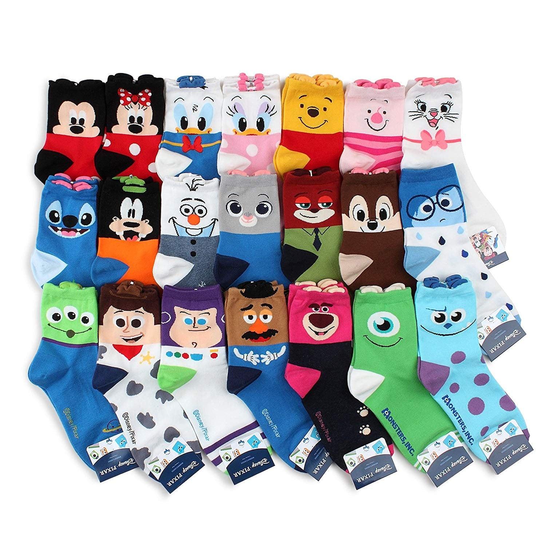 456ea57b72308 Disney Mickey Mouse Womens 3-Pack Crew Socks | Best Disney Socks ...