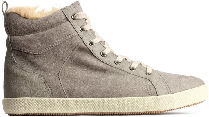 H&M Lined High-Top ($25)
