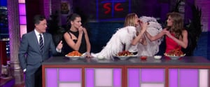 This Video Is Proof the Victoria's Secret Angels Can Out-Eat Anyone in Buffalo Wings