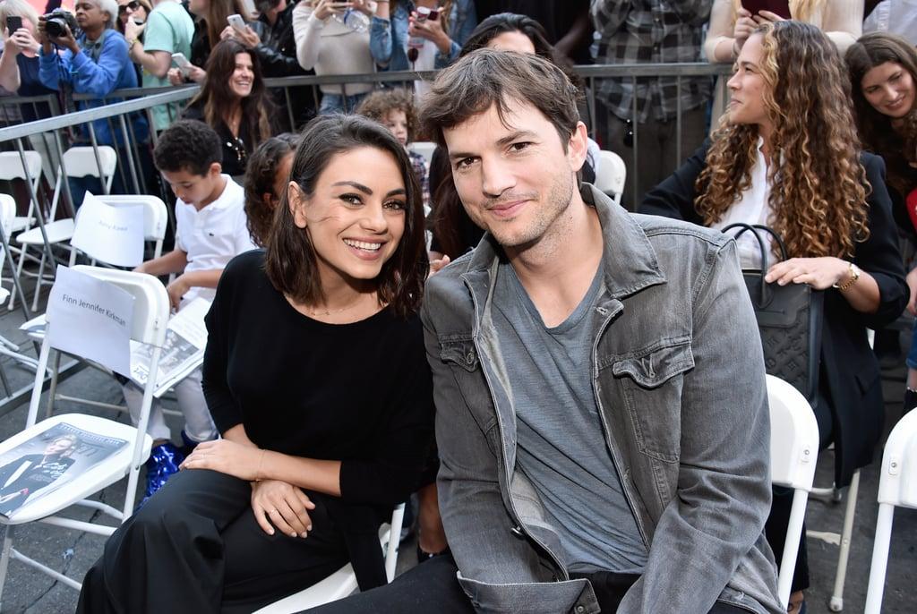 Mila Kunis and Ashton Kutcher on Their Super Bowl Commercial