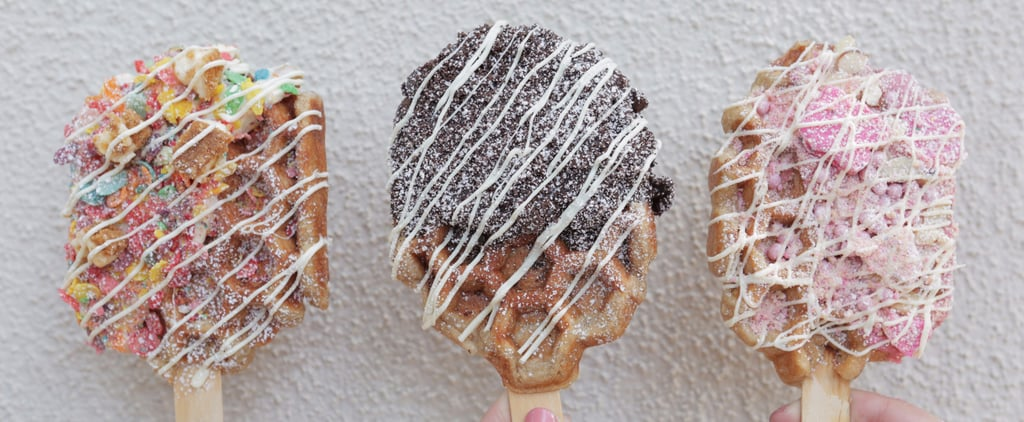 These Waffle Pops Will Be the Hottest Festival Dessert