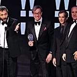 Judd Apatow and Paul Feig