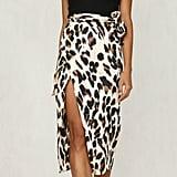 Hirigin Leopard Skirt