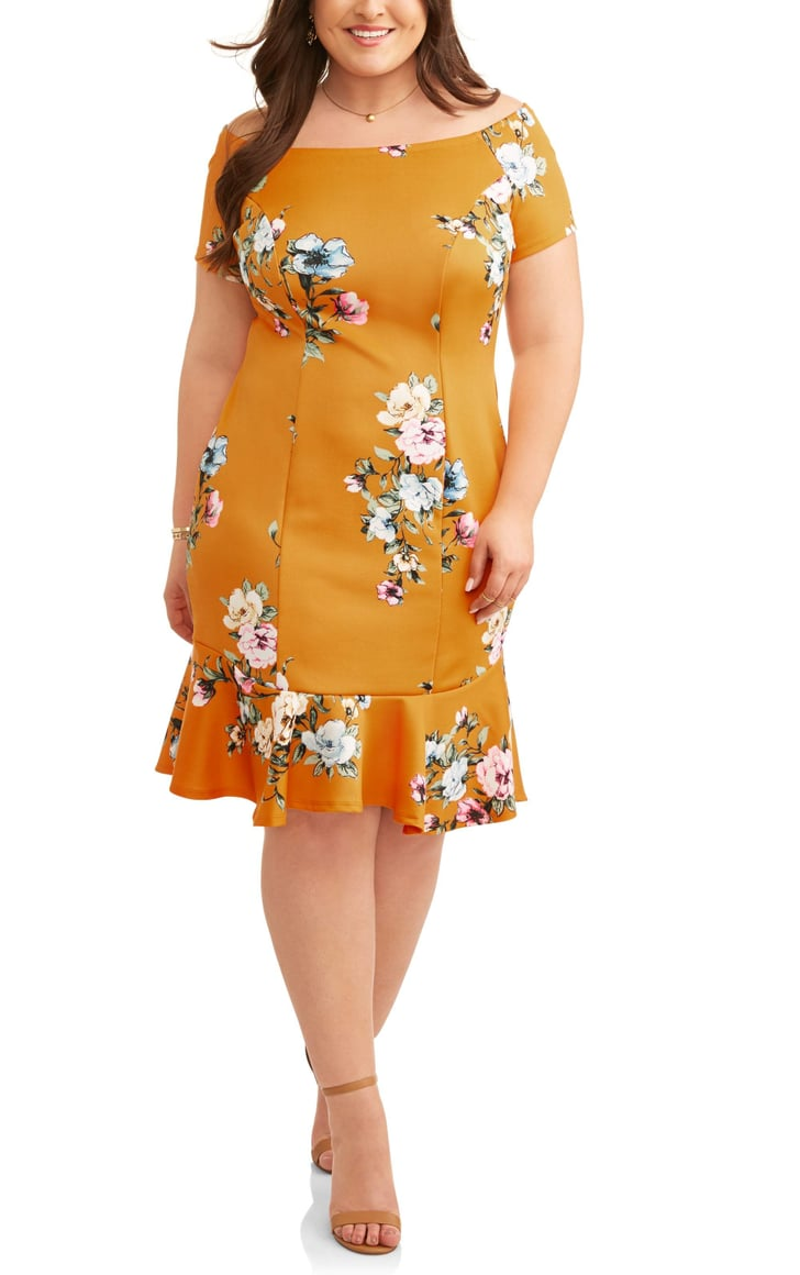 Plus-Size Dresses at Walmart 2018 | POPSUGAR Fashion