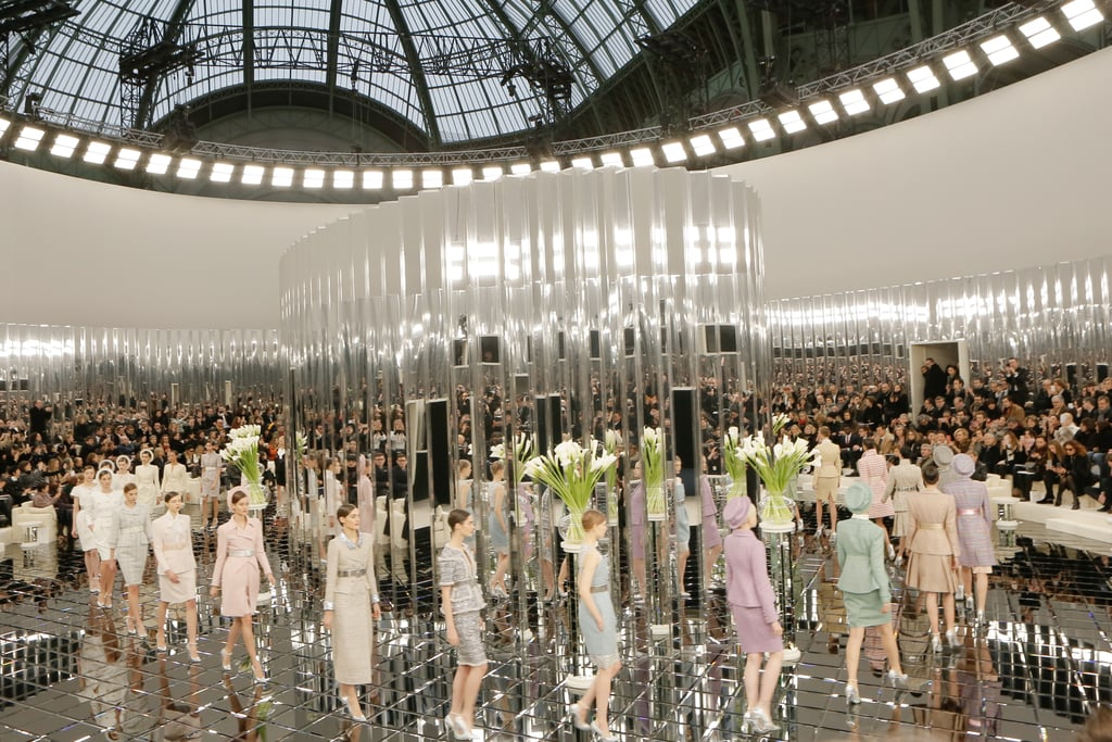 Chanel Pays Homage to Coco's Famous Mirrored Staircase, Spring Haute Couture 2017
