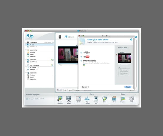 Flip Video Releases New FlipShare Software