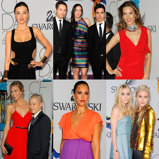 CFDA Award Winners and Pictures