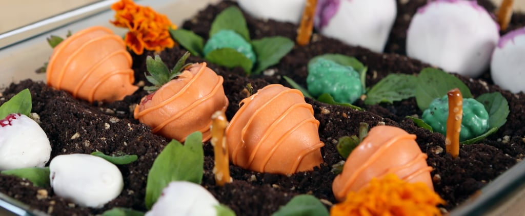 You're Going to Dig This Garden Cake