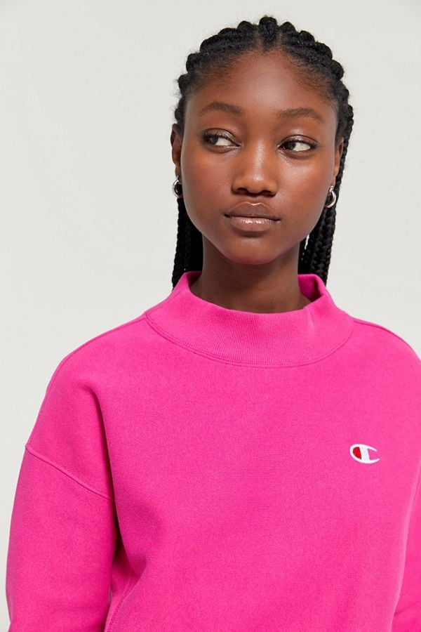 Champion UO Exclusive Reverse Weave Mock Neck Sweatshirt