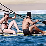 Cameron Breaks Out Her Bikini For Some Paddle Boarding With ARod!