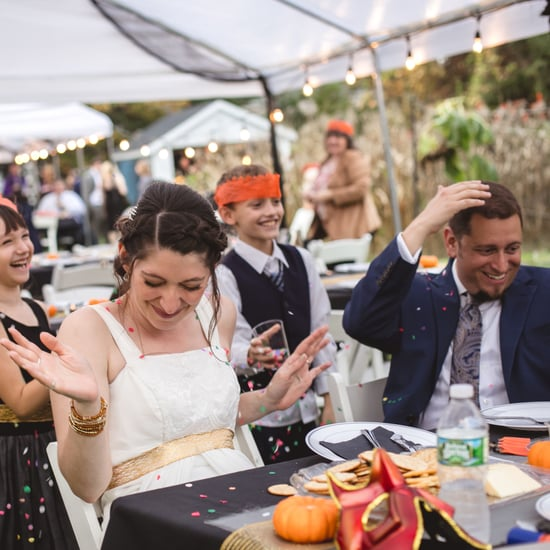 Halloween DIY Backyard Wedding Ideas