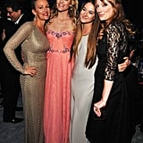 Penelope Ann Miller, Shailene Woodley, Missi Pyle, and Judy Greer are lookin' good!