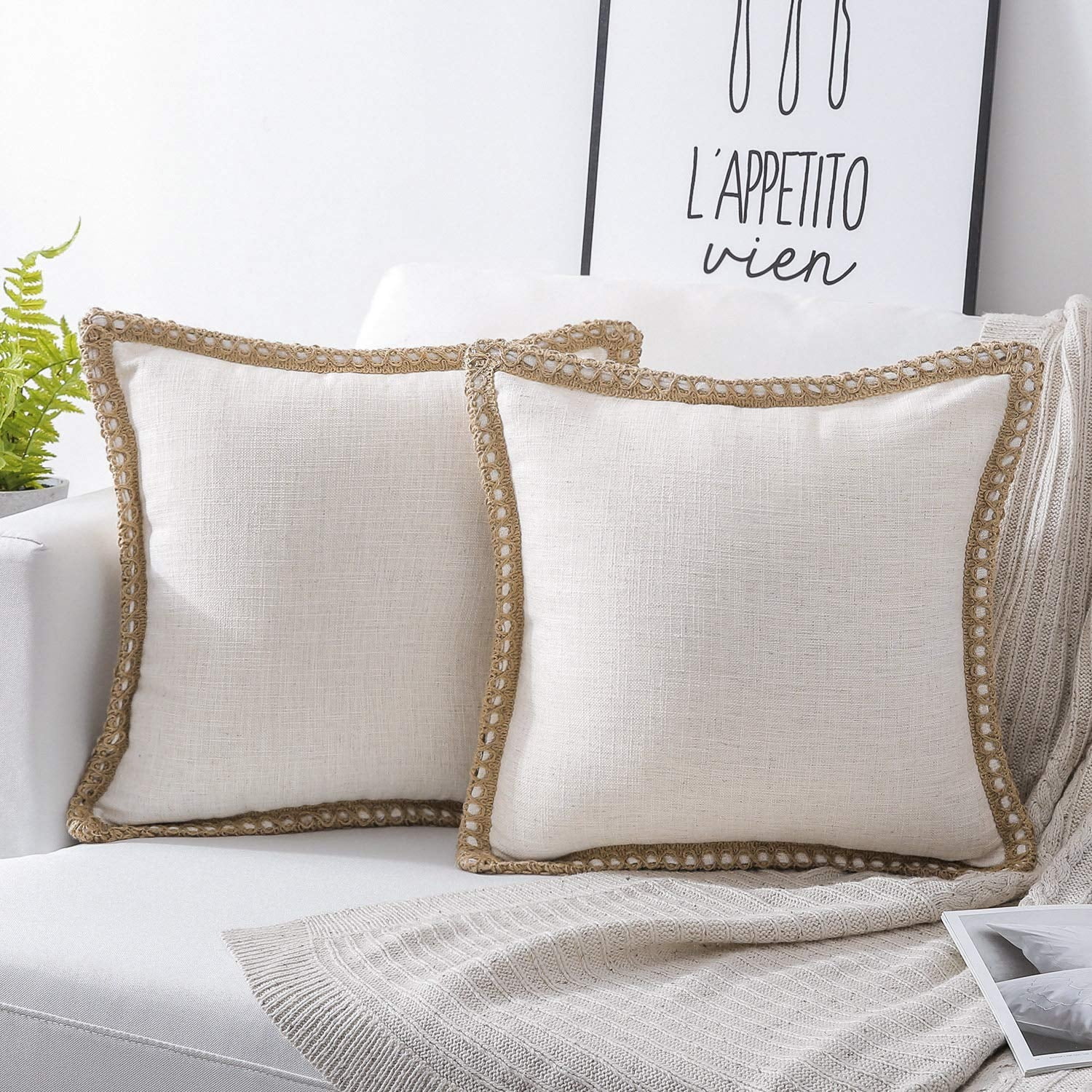 Farmhouse Decorative Throw Pillow Covers Best Modern Farmhouse Decor To Buy On Amazon Popsugar Home Uk Photo 17
