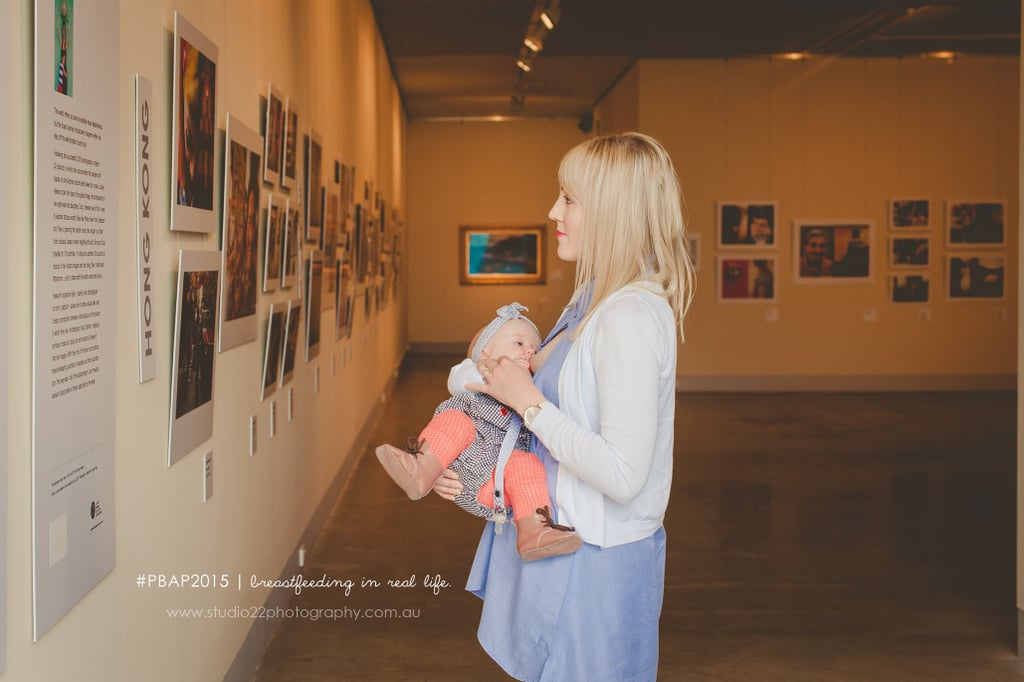 At an Art Gallery