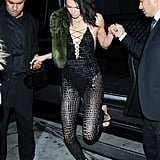 Kendall Jenner's 21st Birthday Outfits 2016