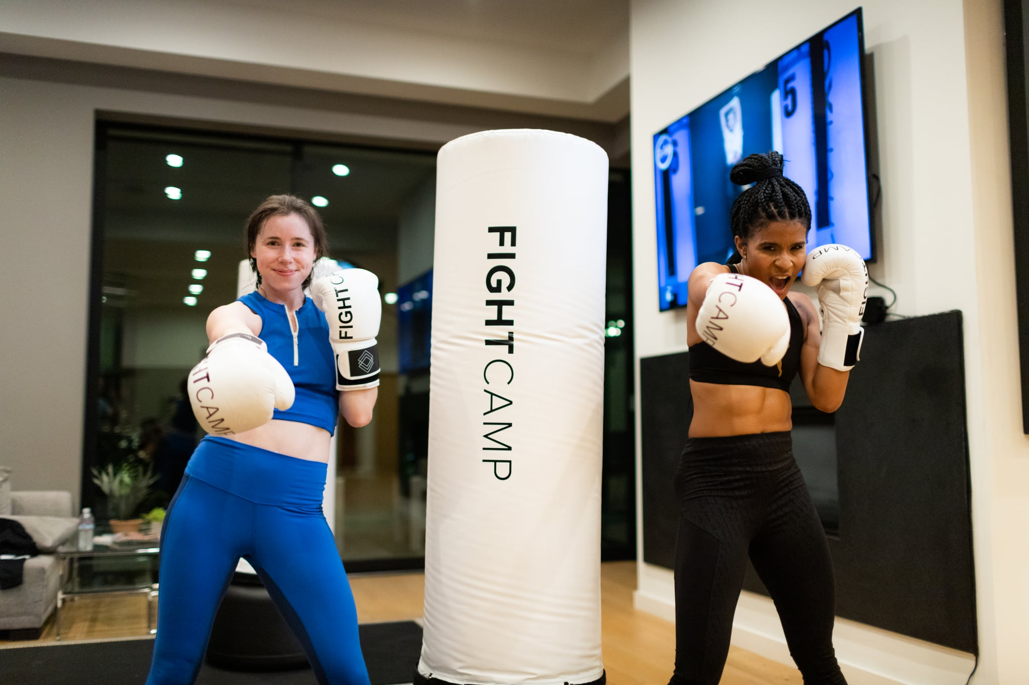 What is fightcamp at home boxing workout popsugar fitness australia