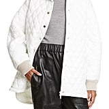 Tibi Quilted Car Coat