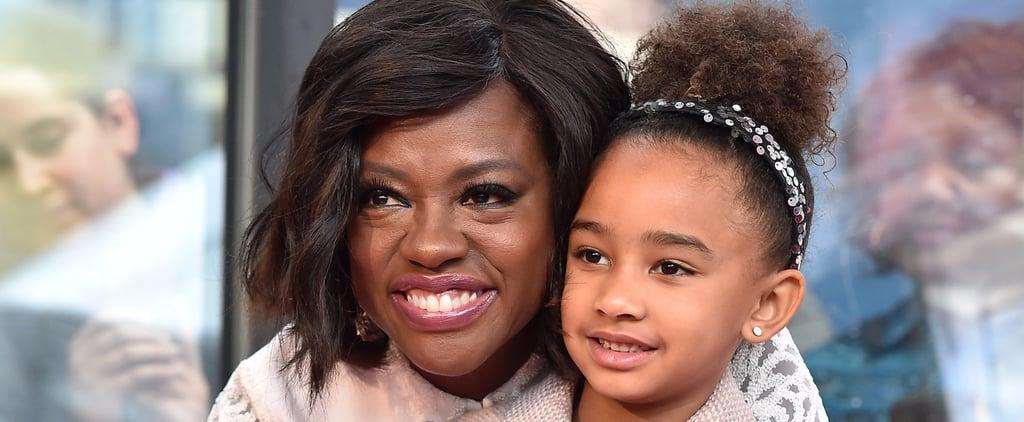 Viola Davis's Daughter Wears Hair Natural While Dressing Up