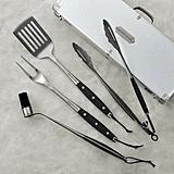 Williams Sonoma Stainless-Steel BBQ Tool Set