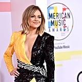 American Music Awards Red Carpet Dresses 2018