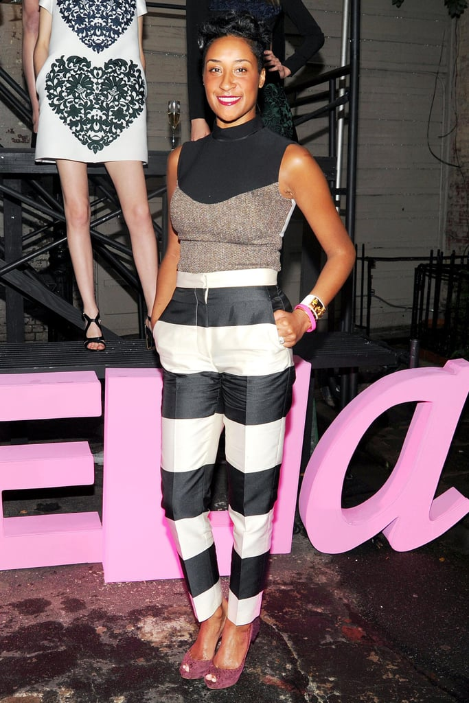 Kimberly Chandler at Stella McCartney's Resort 2014 presentation. Source: Billy Farrell/BFAnyc.com