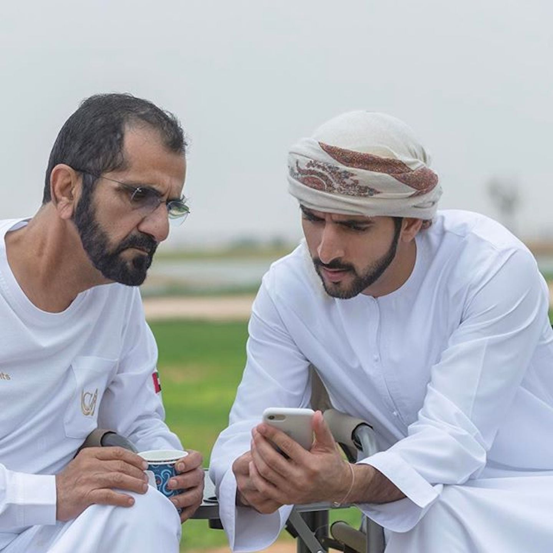 Sheikh Hamdan Thanks Window Cleaners in Video   POPSUGAR ...