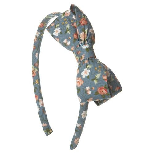 Floral Bow Headband (approx $14)
