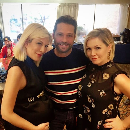Beverly Hills 90210 Reunion Instagrams 2016