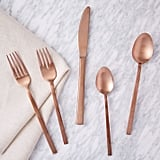 Rose Gold Flatware Set