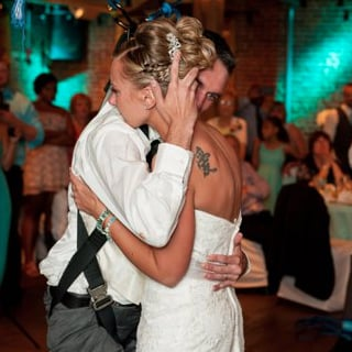 Paraplegic Veteran Dances With Bride