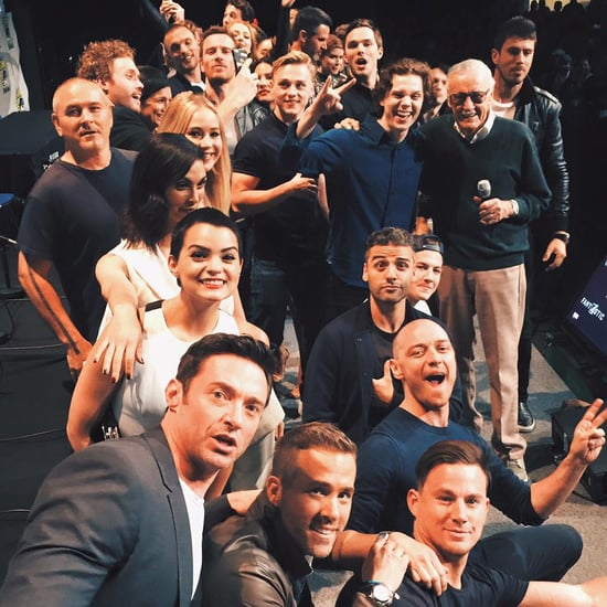 Channing Tatum, Ryan Reynolds, and Hugh Jackman at Comic-Con