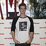 Andrew Garfield promoted The Amazing Spider-Man in Cancun.
