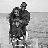 Jay Z pulled his wife in close during their trip to the South of France in 2006.