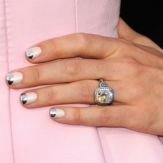 4 Ways To Try The Two Tone Nail Trend