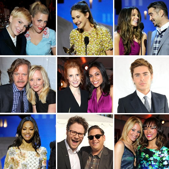 2012 Independent Spirit Awards Celebrity Pictures From Red Carpet, Show and Backstage