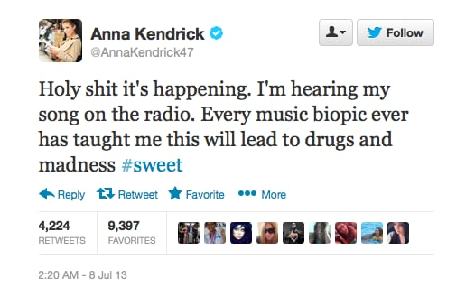 Lucky we know you're joking, Anna.