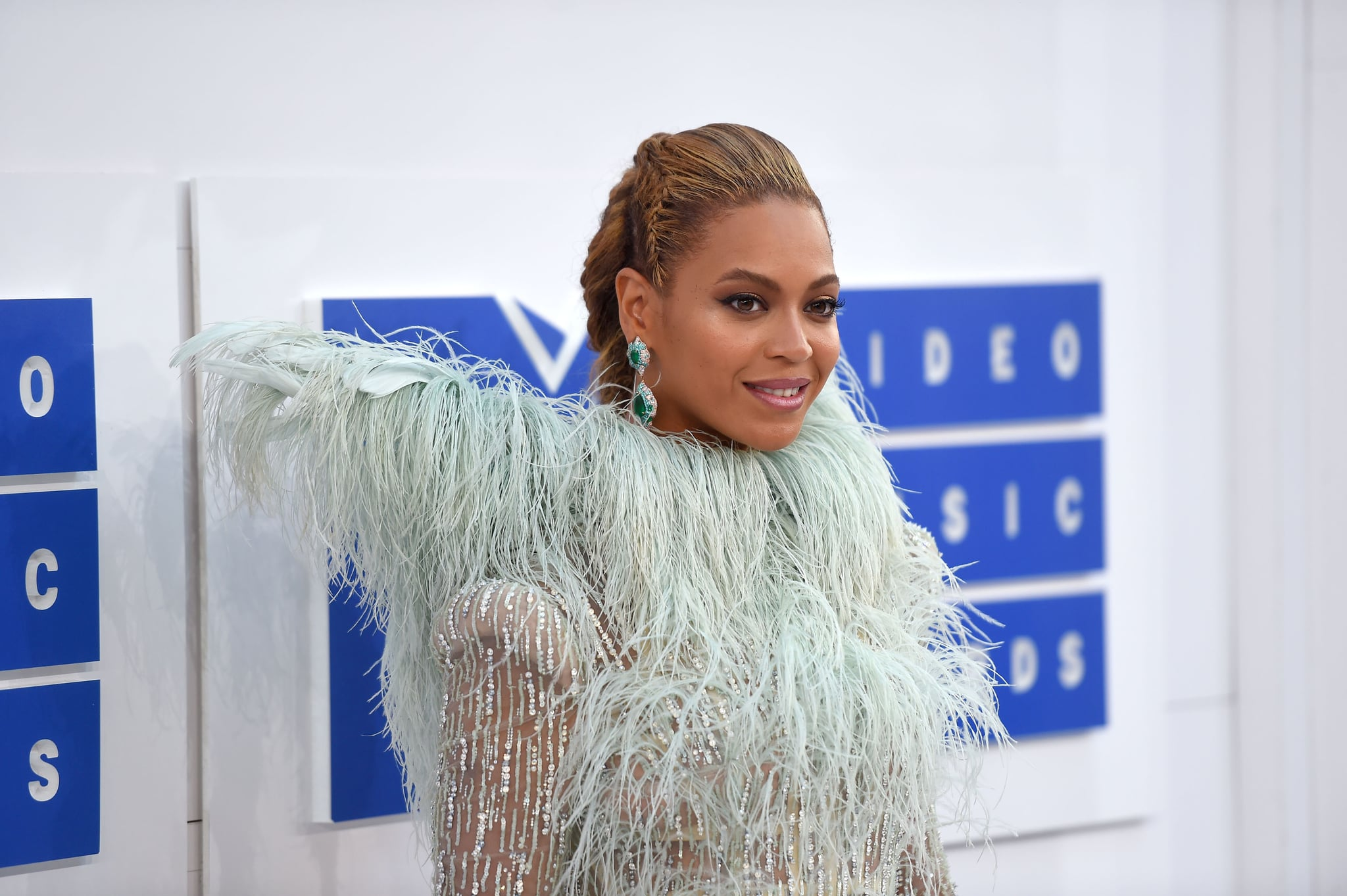 NEW YORK, NY - AUGUST 28:  Beyonce attends the 2016 MTV Video Music Awards at Madison Square Garden on August 28, 2016 in New York City.  (Photo by Nicholas Hunt/FilmMagic)