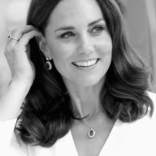 British Royal Family Black and White Photos