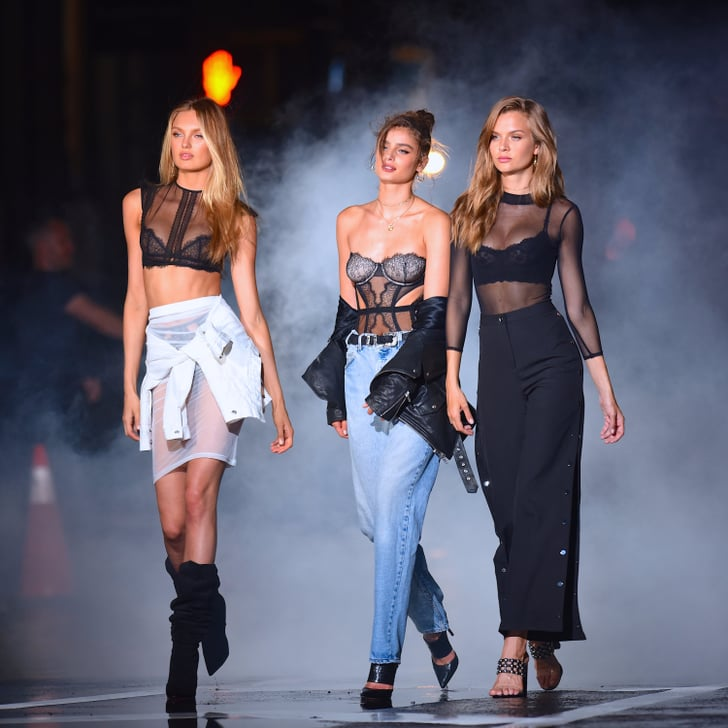 The 1 Trend That Will Still Be Big in 2018, According to 2 Victoria's Secret Models