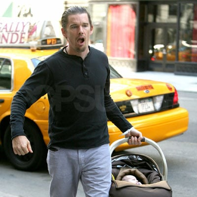 Photos of Ethan Hawke's New Baby