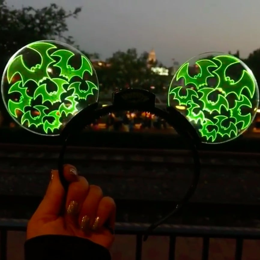 Disney Halloween Light Up Ears 2020 Light Up Halloween Mickey Ears at Disneyland | POPSUGAR Smart Living