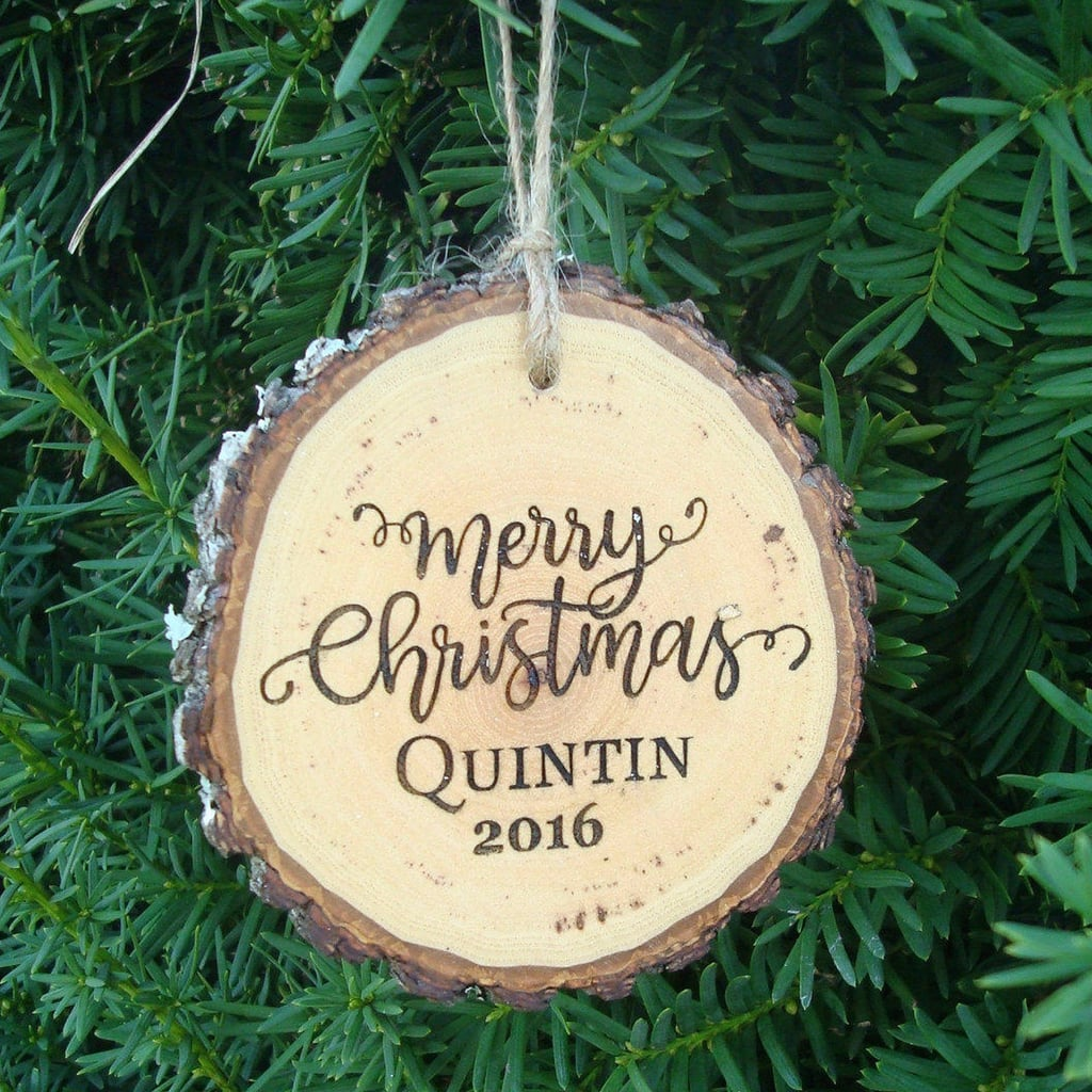 Personalized Christmas Ornaments For Kids and Families  POPSUGAR Moms