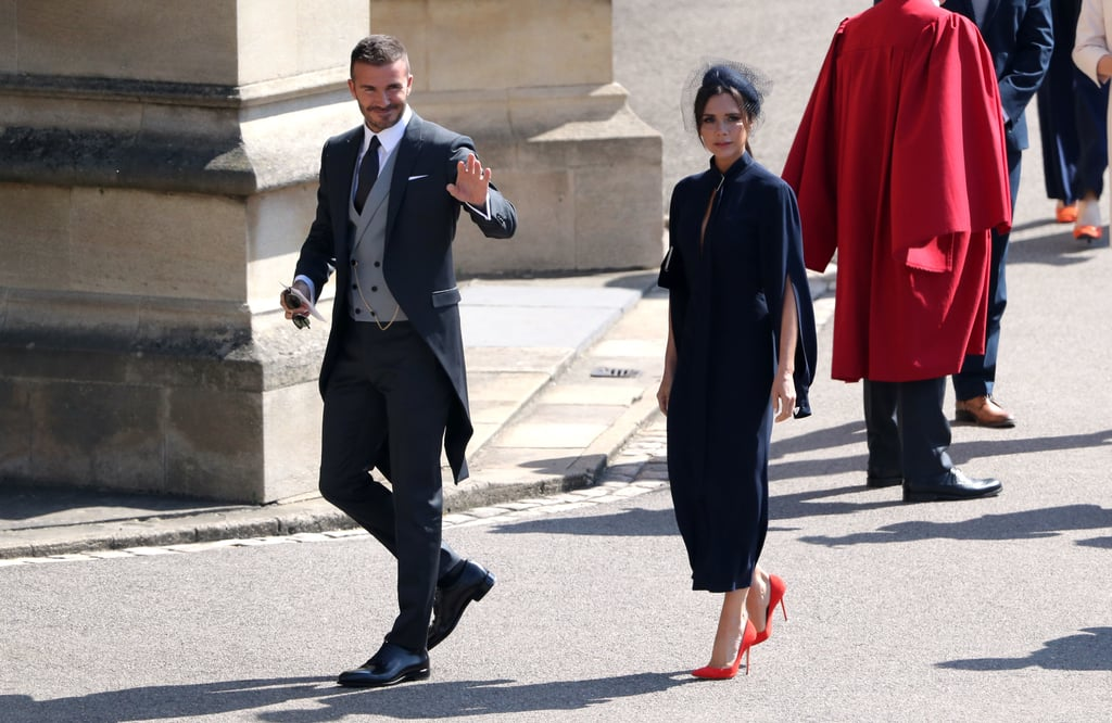 Victoria and David Beckham Royal Wedding Outfits Competition ... 2c983a4a2
