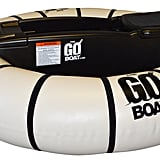 The GoBoat Motorized Pool Float in White